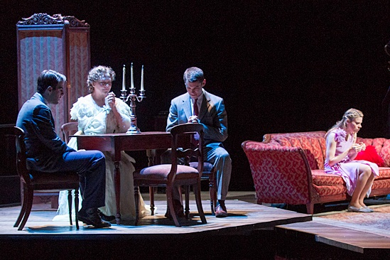 'The Glass Menagerie' Show Photos — Zachary Quinto — Brian J. Smith — Cherry Jones — Celia Keenan-Bolger