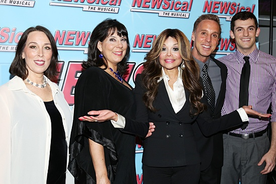 Newsical the Musical- Susan Mosher- Christine Pedi- La Toya Jackson- Michael West- Dylan H. Thompson