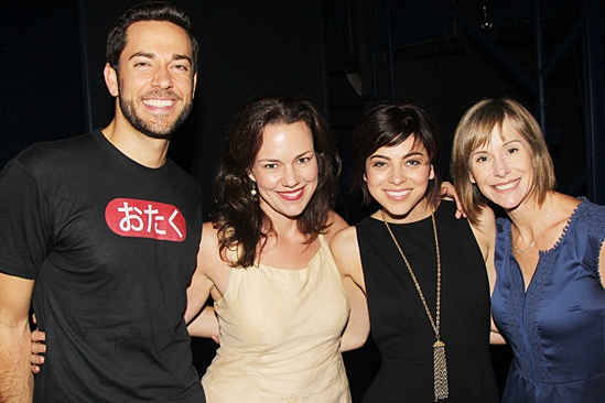 Giuliana & Bill at 'First Date' — Zachary Levi — Georgia Stitt — Krysta Rodriguez — Susan Egan