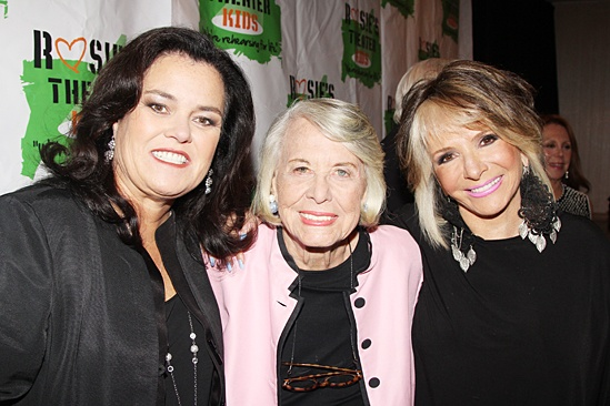 Rosie's Theater Kids Gala – Rosie O'Donnell – Liz Smith – Sheila Nevins