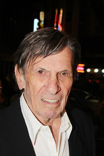'The Glass Menagerie' Opening — Leonard Nimoy