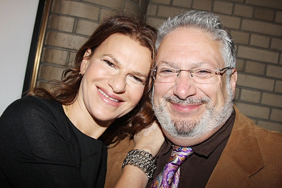 'The Glass Menagerie' Opening — Sandra Bernhard — Harvey Fierstein