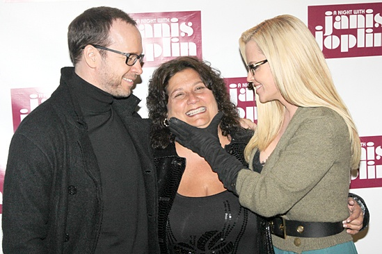 A Night With Janis Joplin – Opening Night – Donnie Wahlberg – Susan DuBow – Jenny McCarthy
