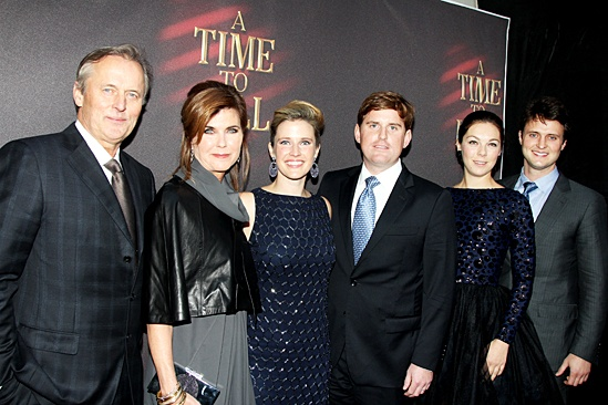 A Time to Kill – Opening Night – John Grisham – Renee wife – family
