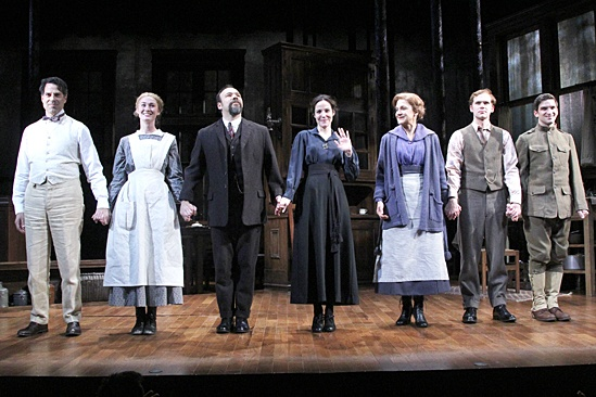 The Snow Geese – Opening Night – Christopher Innvar – Jessica Love – Danny Burstein – Mary-Louise Parker – Victoria Clark – Brian Cross – Evan Jonigkeit