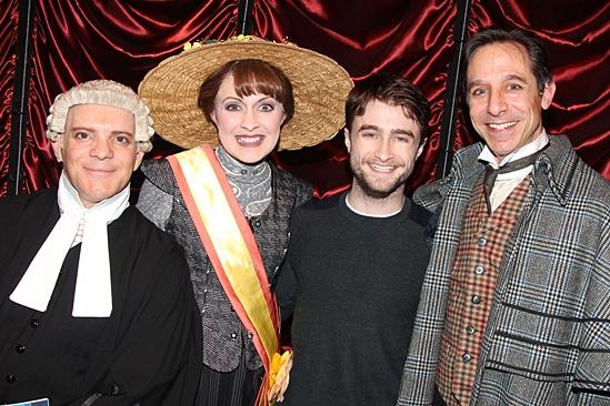 Daniel Radcliffe – Gentleman's Guide – Eddie Korbich – Jennifer Smith – Daniel Radcliffe – Price Waldman