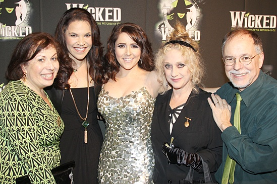 Wicked- Winnie Holzman- Lindsay Mendez- Alli Mauzey- Carol Kane-Gregory Maguire