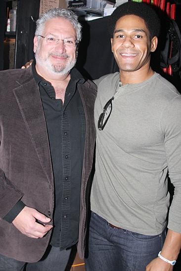 Kinky Boots – Darren Young visit – Harvey Fierstein – Darren Young
