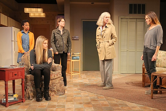 <I>The Commons of Pensacola</I>: Show Photos -  Nilaja Sun- Zoe Levin - Ali Marsh - Blythe Danner - Sarah Jessica Parker