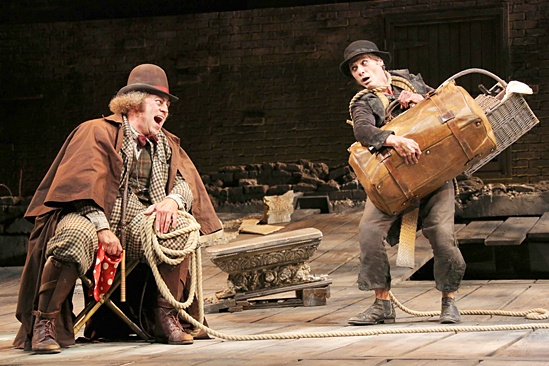 <I>Waiting For Godot</I>: Show Photos - Shuler Hensley - Billy Crudup