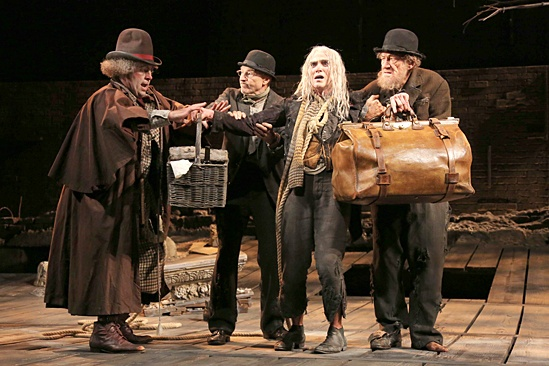 <I>Waiting For Godot</I>: Show Photos - Shuler Hensley - Patrick Stewart - Billy Crudup -  Ian McKellen