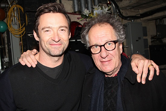 Big Fish – Hugh Jackman Visit – Hugh Jackman – Geoffrey Rush