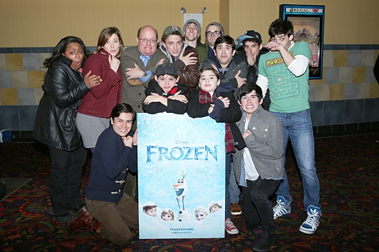 Frozen – Newsies Screening – Group