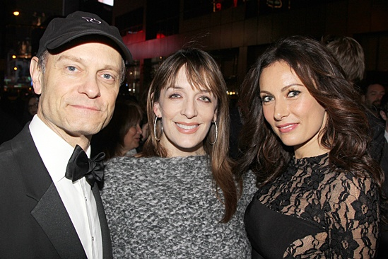 Gentleman's Guide opening night – David Hyde Pierce – Julia Murney – Laura Benanti