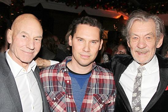 Waiting For Godot – Opening Night – Patrick Stewart – Bryan Singer – Ian McKellen