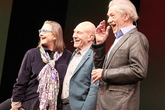 Gypsy of the Year 2013 – Cherry Jones – Patrick Stewart – Ian McKellen