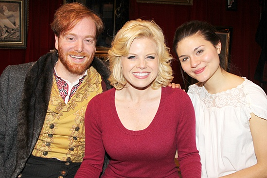 Great Comet – David Abeles – Megan Hilty – Phillipa Soo