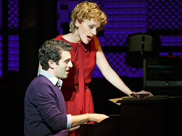 <i>Beautiful: The Carole King Musical</i>: Show Photos - Jarrod Spector - Anika Larsen