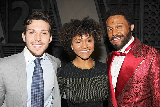 Motown: The Musical - Joshua Bass - Syesha Mercado  - Jarron Muse