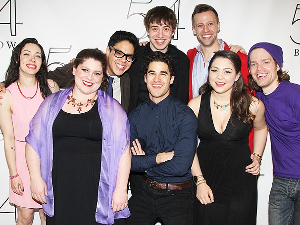 Twisted at 54 Below - Holly Grossman - Rebecca Spigelman - George Salazar - A.J. Holmes - Darren Criss - Tyler Brunsman - Andrea Ross - Jeff Blim