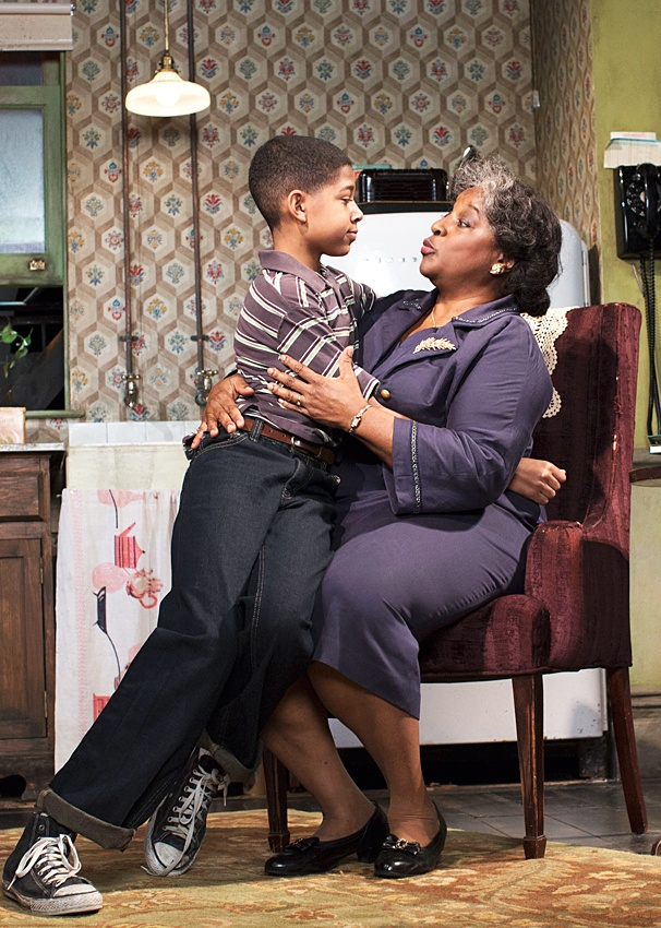 A Raisin in the Sun - Show Photos - PS - 3/14 - Bryce Clyde Jenkins - LaTanya Richardson Jackson