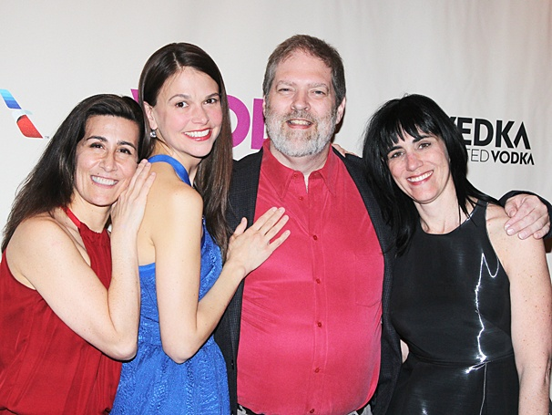 Violet Broadway opening - Jeanine Tesori - Sutton Foster - Brian Crawley - Leigh Silverman