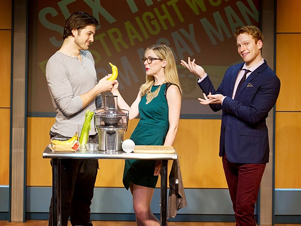Sex Tips for Straight Women from a Gay Man - Show Photos - PS - 5/14 - Keith Hines - Rachel Moulton