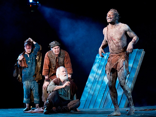 King Lear - Show Photos - PS - 7/14 - Steven Boyer - Jay O. Sanders - John Lithgow - Chukwudi Iwuji