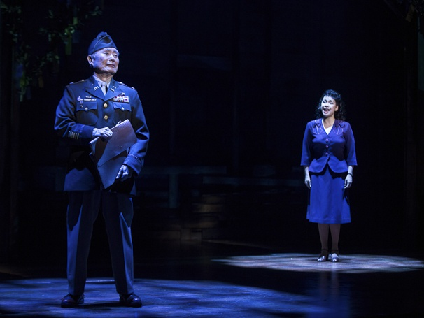 Allegiance - Show Photos - 10/15 - George Takei - Lea Salonga