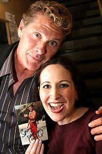 Celebs at Avenue Q - David Hasselhoff - Stephanie D'Abruzzo