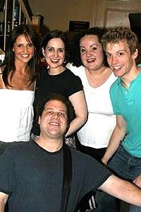 Buffy at Ave Q - Sarah Michelle Gellar - Jordan Gelber - Stephanie D'Abruzzo - Amy Garcia - Barrett Foa