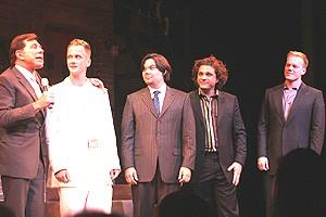 Avenue Q Vegas Opening - Steve Wynn - Jeff Whitty - Robert Lopez - Jeff Marx - Jason Moore