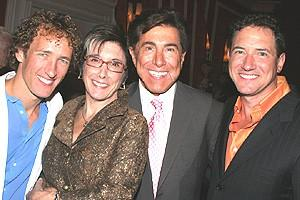 Avenue Q Vegas Opening - Jeffrey Seller - Robyn Goodman - Steve Wynn - Kevin McCollum