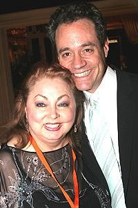 Avenue Q Vegas Opening - Mimi Hines - Mark Sendroff