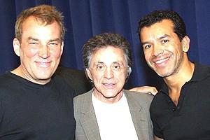 Frankie Valli at Jersey Boys - Des McAnuff - Frankie Valli - Sergio Trujillo