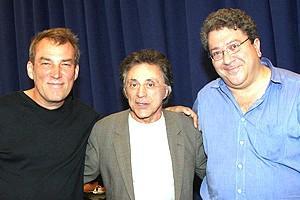 Frankie Valli at Jersey Boys - Des McAnuff - Frankie Valli - Ron Melrose