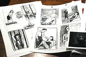 Chicago Photo Shoot - storyboards