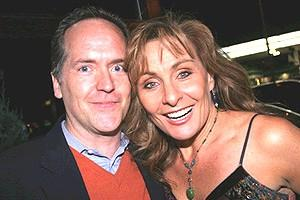 Pawk/Dossett Mamma Mia party - David Beach - Judy McLane