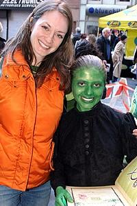 Wicked Day 2005 - Michelle Federer - green girl