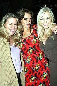 Brooke Shields Chicago Farewell Party - Luba Mason - Brooke Shields - Charley Izabella King