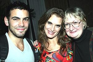 Brooke Shields Chicago Farewell Party - Matthew Risch - Brooke Shields - assistant Paula