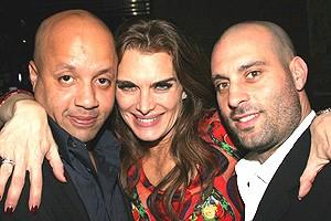 Brooke Shields Chicago Farewell Party - Mikey G - Brooke Shields - Carmine Lucariello