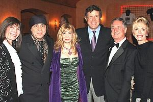 Jersey Boys Opening - wife - Steve Van Zandt - wife - Cousin Bruce Morrow - Neil Sedaka - wife