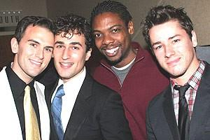 Jersey Boys Opening - Daniel Reichard - Joey Dudding - Michael Benjamin Washington - Adam Fleming