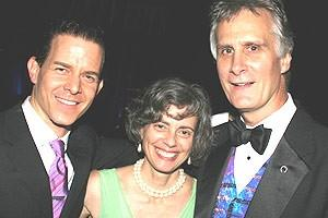 Jersey Boys Opening - Christian Hoff - wife Laurel Strong - Ed Strong