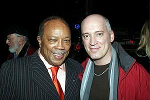 Quincy Jones at Jersey Boys - Quincy Jones - Donnie Kehr