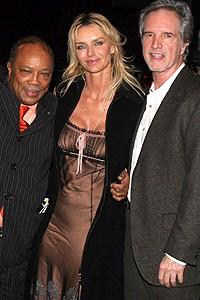 Quincy Jones at Jersey Boys - Quincy Jones - Kimberly Hefner - Bob Gaudio
