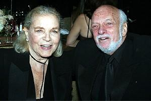 Phantom Record Breaking Party - Lauren Bacall - Hal Prince