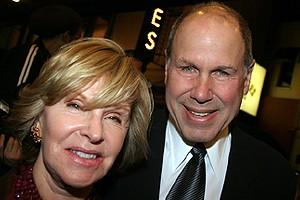 Phantom Record Breaking Party - Jane Eisner - Michael Eisner