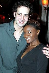 Wicked cast farewells 2006 - Ben Cameron - Saycon Sengbloh